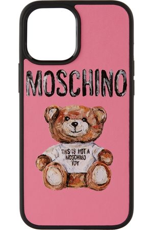 Moschino Phones Cases - Pink 'Not A Toy' iPhone 12 Pro Max Case