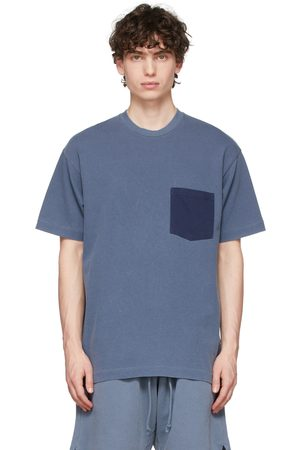 JOHN ELLIOTT Men T-shirts - Blue 1992 Pocket T-Shirt