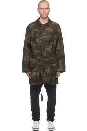 FEAR OF GOD Men Coats - Green Military Coat