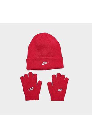 Nike Beanies - Little Kids' Futura Beanie and Gloves Set