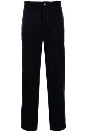 Emporio Armani Straight-leg tailored trousers
