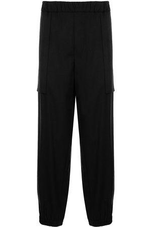 Emporio Armani Straight-leg track trousers