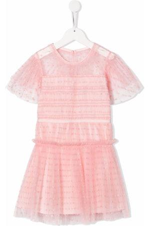Self-Portrait Kids Girls Dresses - Tulle mini dress