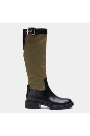 Coach Women Thigh High Boots - Women's Leigh Leather Knee High Boots