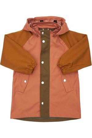 Liewood Girls Rainwear - Color Block Soft Recycled Nylon Raincoat