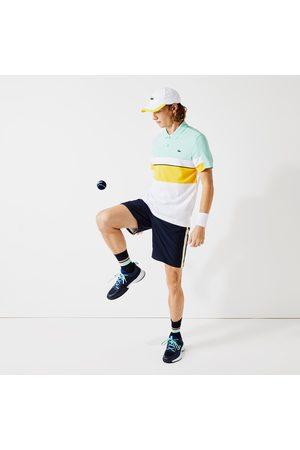 Lacoste Men Sports Shorts - Men's SPORT Contrast Bands Lightweight Shorts - M - 4