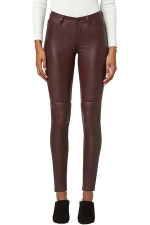 Hudson Women Leather Pants - Nico Leather Pants