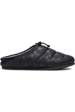Coach Women Slippers - Rachelle Monogram Quilted Nylon Slippers