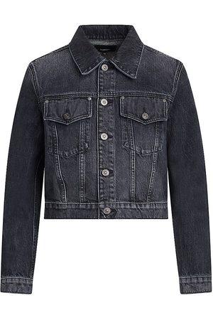 Hudson Gia Cropped Denim Jacket