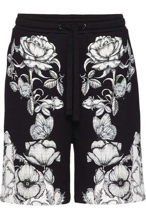 VALENTINO Blooming Print Bermuda Shorts