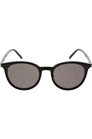 Saint Laurent Sl 488/k Round Acetate Sunglasses
