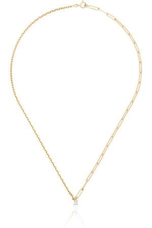 YVONNE LÉON Women Necklaces - 18kt pear diamond necklace