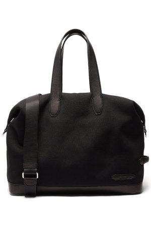 BRIONI Men Travel Bags - Interlock And Leather Holdall - Mens
