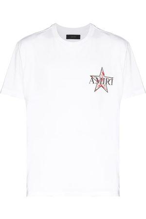 AMIRI Men Short Sleeve - Paisley Star short-sleeve T-shirt