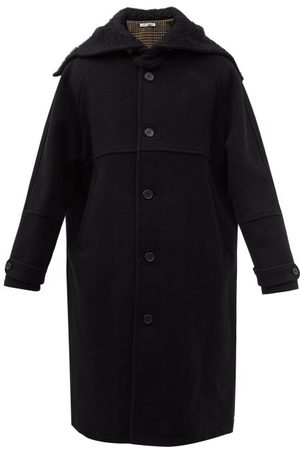 OUR LEGACY Flight Felted-wool Overcoat - Mens
