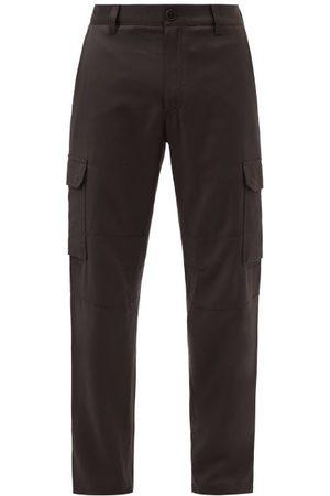 BRIONI Rangiroa Wool Cavalry-twill Cargo Trousers - Mens