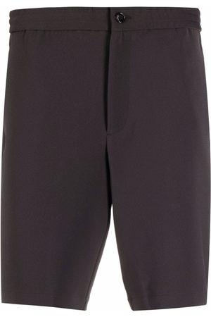 THEORY Button-fastening bermuda shorts - Grey