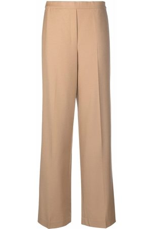 THEORY Women Wide Leg Pants - High-waisted wide-leg trousers - Neutrals
