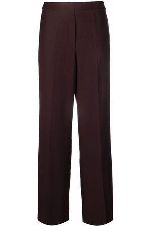 THEORY Women Wide Leg Pants - High-waisted wide-leg trousers