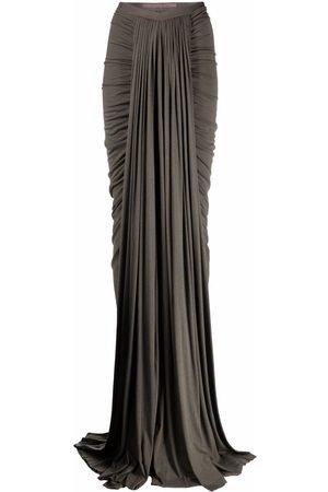 RICK OWENS LILIES Women Maxi Skirts - Long mermaid skirt