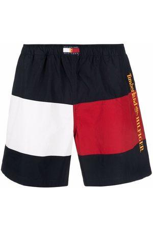Tommy Hilfiger X Timberland stripe-logo shorts