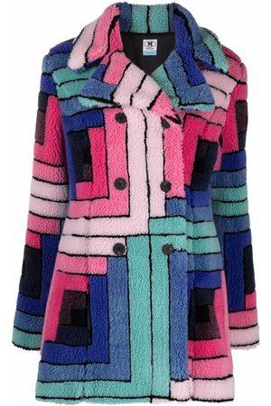 M Missoni Geometric print coat