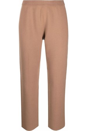 THEORY Women Leggings - Knitted cropped trousers - Neutrals