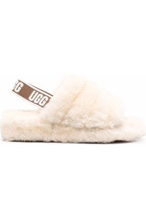 UGG Women Sandals - Fluff Yeah shearling slides - Neutrals