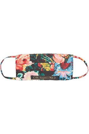The Vampire's Wife Women Luggage - Bouquet Floral-print Silk-satin Face Covering - Womens - Multi