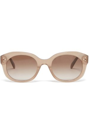 Céline Women Round - Round Acetate Sunglasses - Womens
