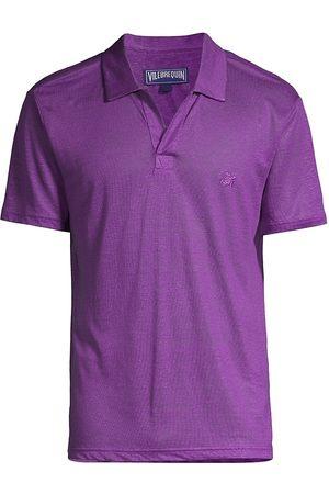 Vilebrequin Men Polo Shirts - Pyramid Linen Polo Shirt