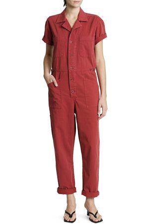 Pistola Grover Short Sleeve Cotton Jumpsuit