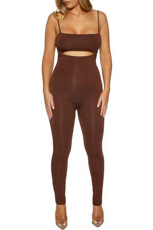 Naked Wardrobe Cutout Jumpsuit
