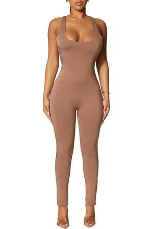 Naked Wardrobe Sleeveless Catsuit