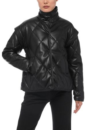 Apparis Liliane Faux Leather Quilted Jacket