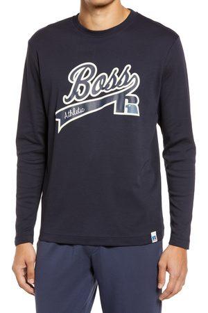 HUGO BOSS HUGO x Russell Athletic Ra Long Sleeve Logo Graphic Tee