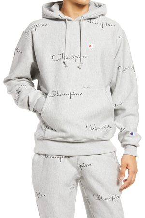 Champion Reverse Weave(R) All Over Logo Hoodie