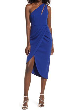 Lulus So Flirty One-Shoulder Dress