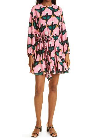 Rhode Maryn Long Sleeve Mini Dress