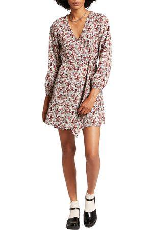 Volcom Flower Trip Long Sleeve Minidress