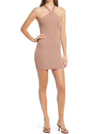 Naked Wardrobe Halter Minidress