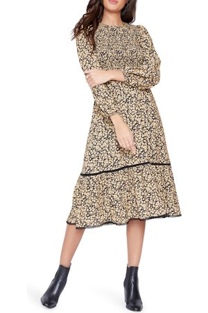 Lost + Wander Pick Me Golden Hour Midi Dress