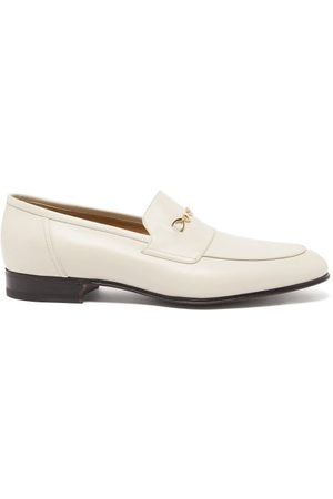 Gucci Ed Horsebit Leather Loafers - Mens