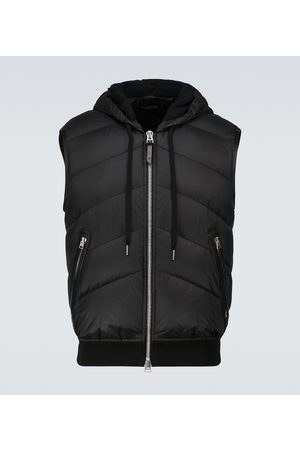 Tom Ford Padded nylon and cotton vest
