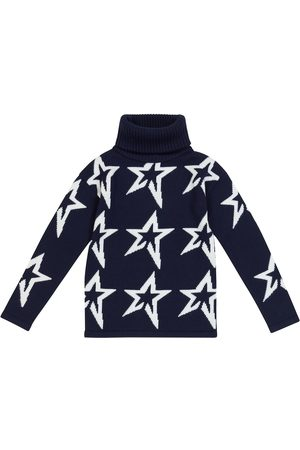 Perfect Moment Star intarsia wool turtleneck sweater