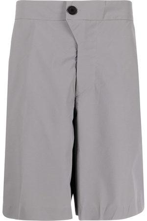 A-cold-wall* Men Bermudas - Noos wide-leg bermuda shorts - Grey