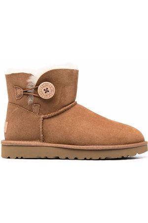 UGG Women Boots - Logo-patch suede boots