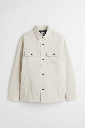 H&M Relaxed Fit Corduroy Shirt Jacket