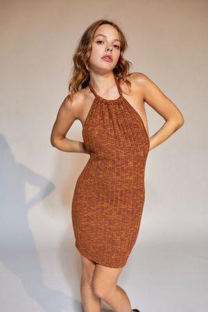 Urban Outfitters UO Sasha Knit Halter Mini Dress