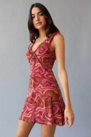 Urban Outfitters UO Maxwell Mesh Mini Dress